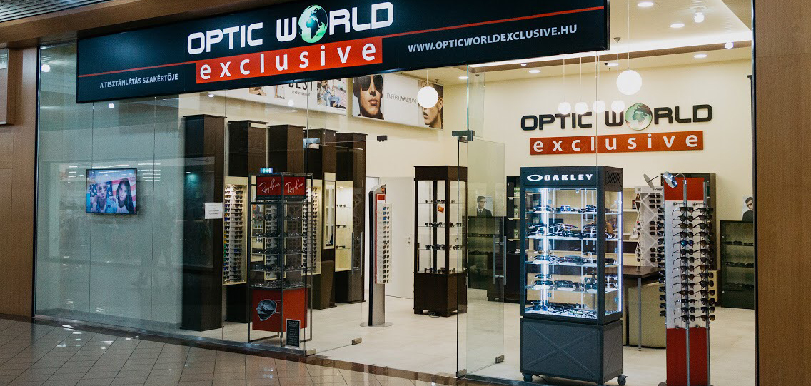 Szeged Auchan - Optic World Exclusive 1ee09d8824